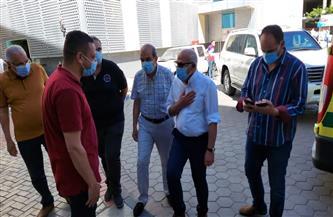 محافظ بورسعيد يتفقد مستشفى السلام
