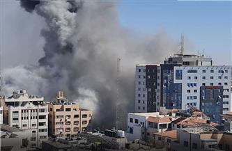4 صواريخ إسرائيلية تدك برج المكاتب الصحفية في غزة.. وحماس تكشف سر فشل الوساطات الدولية
