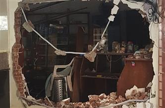 """وحدة التدخل السريع بالإسكندرية توقف أعمال بناء مخالف بـ""""المعمورة الشاطئ"""""""