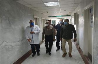 رئيس مدينة الغردقة يتابع الإجراءات الاحترازية لمواجهة كورونا بالمستشفى العام