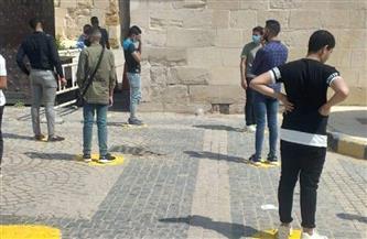 إقبال على قلعة قايتباي بالإسكندرية في ثالث أيام العيد