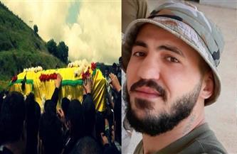 المئات يشيعون أحد مقاتلي حزب الله استشهد بنيران إسرائيلية قرب الحدود