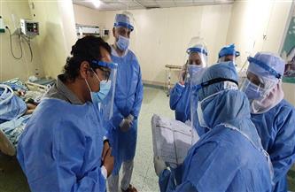 رئيس الإدارة المركزية للطب العلاجي بوزارة الصحة يتفقد مستشفيات الغربية