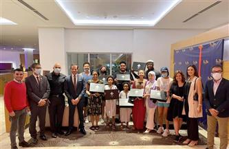 تنسيقية شباب الأحزاب والسياسيين تودع الأمريكية جلوريا بعد تحقيق حلمها بزيارة مصر    صور