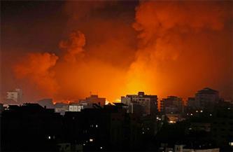ارتفاع حصيلة شهداء القصف الإسرائيلي على غزة إلى 177 شهيدًا