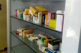 ضبط صيدلية بها أدوية غير مسجلة بوزارة الصحة في الفيوم