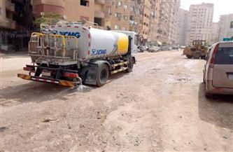 حملة للنظافة والتجميل في شوارع حي عابدين