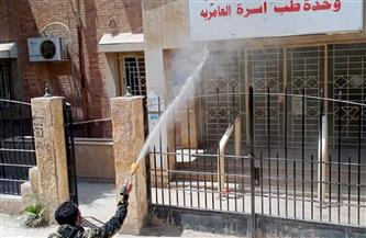 حملات لتطهير شوارع العامرية بالإسكندرية ضمن إجراءات مواجهة كورونا | صور