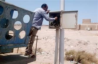حملة لصيانة الكهرباء فى مركز المحمودية