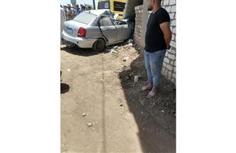 مصرع رجل وزوجته وابنهما في حادث مروري بالعياط