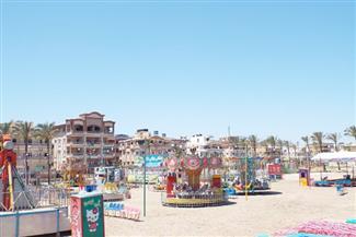 استمرار غلق شواطئ مصيف بلطيم بكفر الشيخ في رابع أيام عيد الفطر| صور