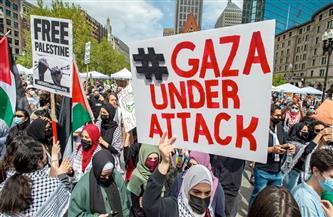 """إصابة 93 شرطيا والقبض على 59 شخصا في """"مظاهرة فلسطين"""" بالعاصمة الألمانية"""