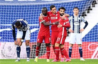 «صلاح» يسجل في تعادل ليفربول مع وست بروميتش في الشوط الأول