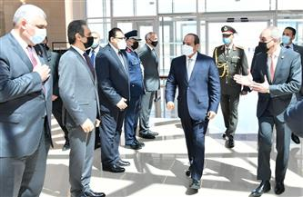 المتحدث الرئاسي ينشر صور وصول واستقبال الرئيس السيسي في مطار أورلي بباريس
