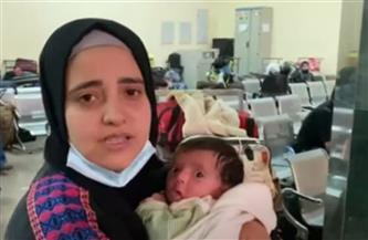 فلسطينيون يوجهون الشكر لمصر أثناء عبورهم من معبر رفح |فيديو