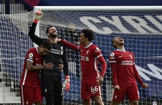 «أليسون بيكر» يسجل هدف ليفربول الثاني في شباك وست بروميتش