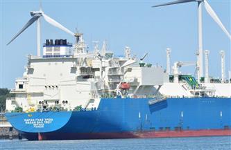 «MARAN GAS TROY» تغادر ميناء دمياط إلى باكستان