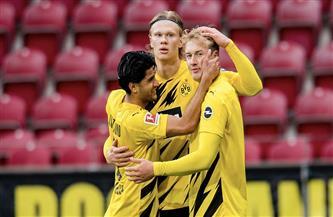 دورتموند يواصل احتفالاته بكأس ألمانيا ويضمن التأهل لدوري الأبطال بثلاثية في «ماينز»