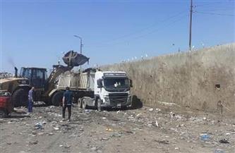 """رفع 170 طن قمامة وتراكمات أتربة من قرى """"قطور"""" في الغربية"""