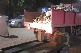 رفع 100 طن مخلفات من مناطق متفرقة غرب الإسكندرية