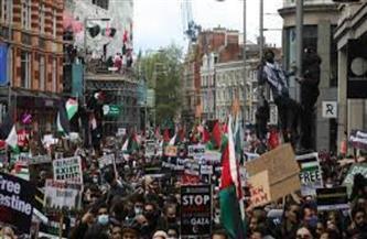 مسيرات حاشدة في شيكاغو دعمًا للشعب الفلسطيني وتنديدًا بالعدوان الإسرائيلي | فيديو