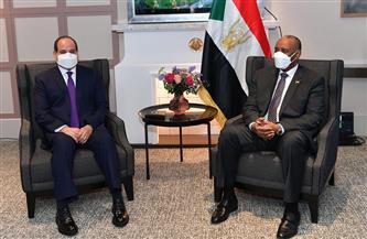 المتحدث الرئاسي ينشر صور لقاء الرئيس السيسي ورئيس مجلس السيادة السوداني بباريس |صور