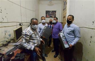تنفيذ 17 إزالة إدارية وضبط 10 مواطنين بدون كمامة في حملة بمدينة إسنا بالأقصر | صور