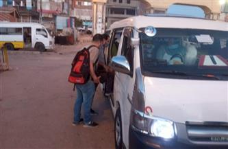 محافظ كفر الشيخ يوجه بمتابعة المواقف لتوفير السيارات لنقل الركاب | صور