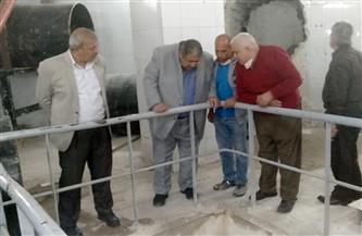 انطلاق التشغيل التجريبي لمجمع الصرف الصحى بعين شمس | صور