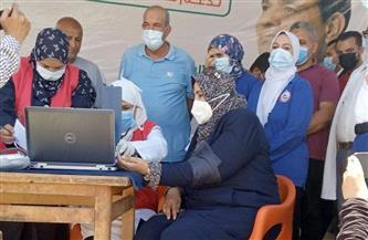 جولة لوكيلة وزارة الصحة بكفرالشيخ ببلطيم للتوعية بخطورة كورونا | صور