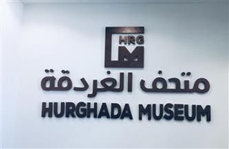 تمثال من الحجر الجيري قطعة شهر مايو بمتحف الغردقة