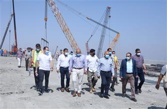 تفاصيل جولة وزير النقل لمتابعة أعمال التطوير والصيانة الشاملة للطريق الدائري | صور