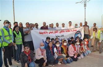 «مستقبل وطن» يطلق حملة للتشجير وتنظيف الشواطئ بالقصير في البحر الأحمر | صور