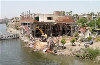 إزالة 45 تعديًا على نهر النيل في 3 محافظات