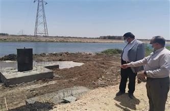 متابعة مناسيب المياه وعدد من مشروعات التطوير في الشرقية | صور