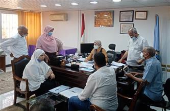 رئيسة مدينة سفاجا تبحث 10 شكاوى في لقاء المواطنين | صور