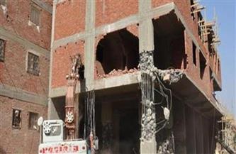 حي حلوان يتصدى لأعمال بناء مخالف في مستشفى بدون ترخيص