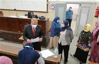 رئيس جامعة الأزهر يتفقد لجان امتحانات السنة التأهيلية | صور