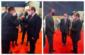 المتحدث الرئاسي ينشر صور وصول الرئيس السيسي لمقر مؤتمر باريس لدعم المرحلة الانتقالية فى السودان