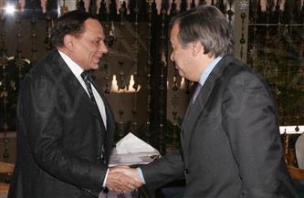 مفوضية الأمم المتحدة للاجئين تهنئ الزعيم عادل إمام بعيد ميلاده