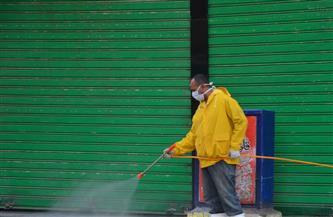 """حملة لتطهير المناطق الحيوية لمنع انتشار """"كورونا"""" غرب الإسكندرية"""