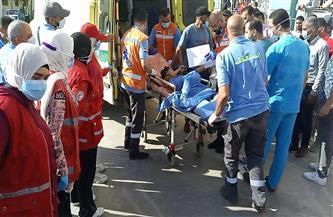 الدفعة الأولى من مصابي فلسطين تصل لمستشفى العريش العام | صور