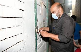 إغلاق ورش ومقاه مخالفة لموعد الغلق في حي الزيتون