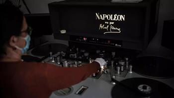 """لمسات أخيرة على عملية ترميم ضخمة للفيلم الصامت """"نابوليون"""""""