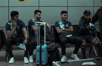بعثة الأهلي تصل مطار القاهرة استعدادًا للسفر إلى جنوب إفريقيا | صور
