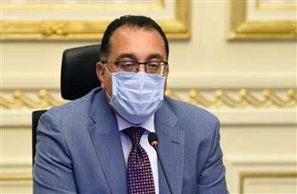 رئيس الوزراء يتفقد مشروع توسعات محطة معالجة صرف صحي رأس البر