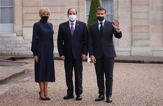 الرئيس السيسي يصل قصر الإليزيه للمشاركة في مأدبة عشاء يقيمها «ماكرون»