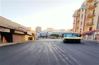 حي المنتزه أول بالإسكندرية ينتهي من إصلاح ورصف عدد من الشوارع