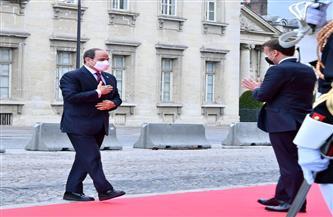 """""""النواب والشيوخ"""": الرئيس السيسي وضع العالم أمام مسئولياته من باريس بشأن الملف الفلسطيني"""