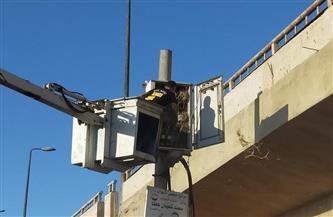 استمرار العمل على رفع كفاءة وصيانة الإنارة العامة بمدينة دسوق والقرى التابعة لها